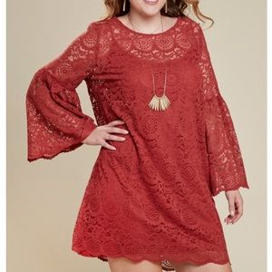 A Beautiful Soul lace dress 22/24